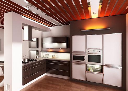 Реечный потолок: установка и уход