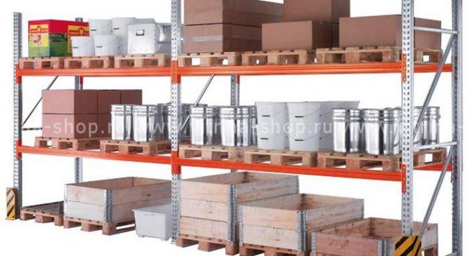 Стеллажные конструкции для склада стройматериалов