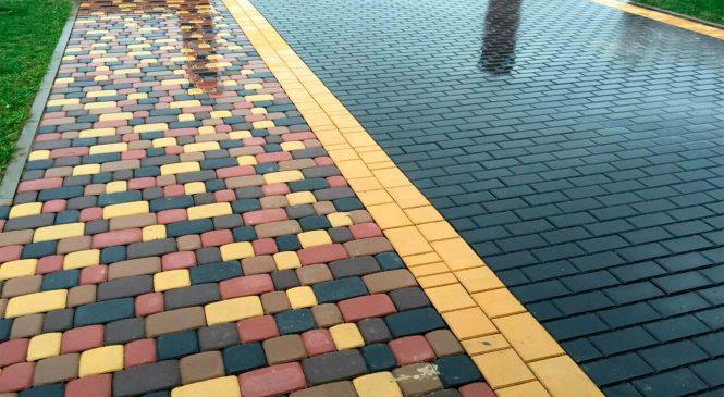 О способах производства тротуарной плитки