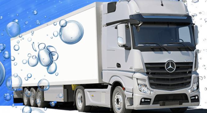 Способы мойки грузовиков