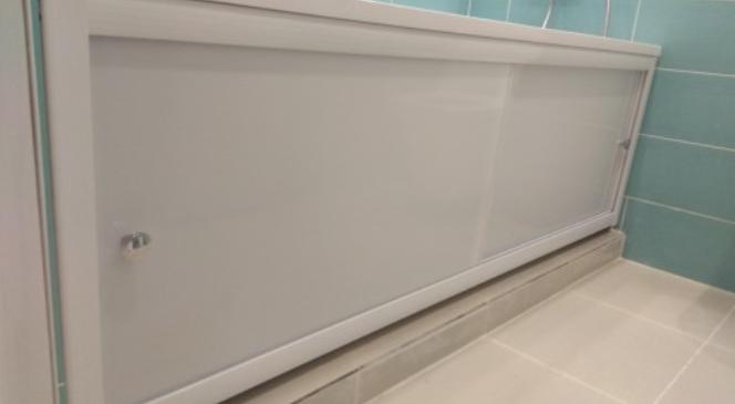 Экраны под ванну: эстетичность и функциональность